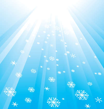 Snowflake Decoration. Christmas and New Year's background Stock Vector - 8183299