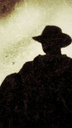 clothing: A cowboy silhouette.