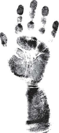 forensics: Full Handprint