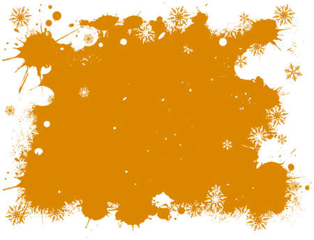 Snowflake vector background Stock Vector - 1876558