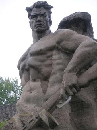 the liberator: Russia, la citt� di Volgograd, un monumento ai soldati-liberatori