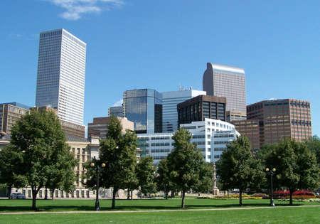 denver parks: Downtown Denver
