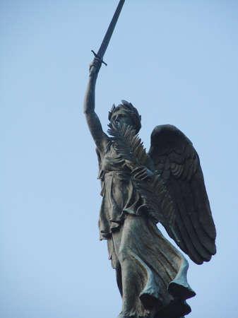 gettysburg battlefield: The Winged Victory Statue