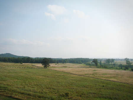 Gettysburg Pa Stock Photo