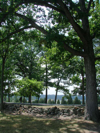 gettysburg battlefield: The Wheatfields Pa Stock Photo