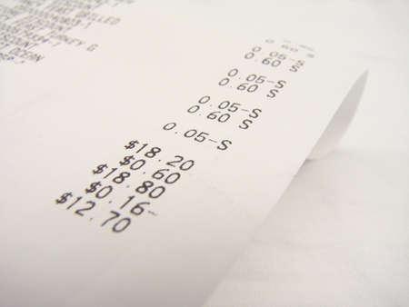 receipts: Sales Receipt