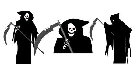 Grim Reaper Collection Vector