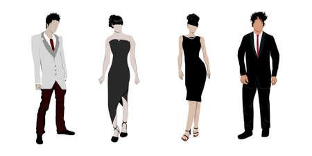 night suit: People Illustration