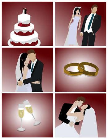 wedding couple: Wedding Set
