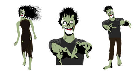 Zombie Collection Vector