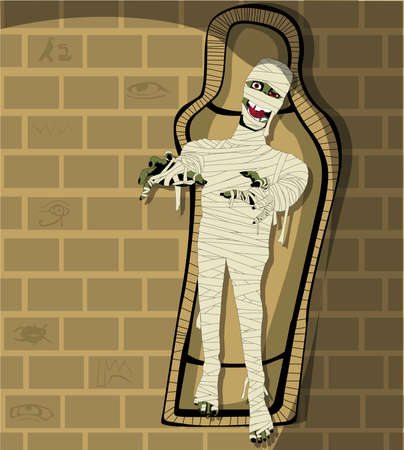Egyptian Mummy Vector