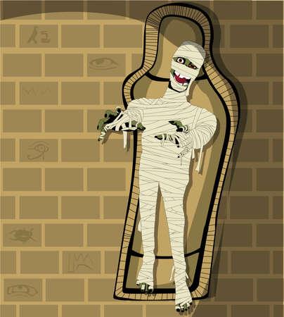 hieroglieven: Egyptische mummie