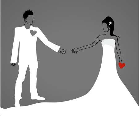 heiraten: Verliebt