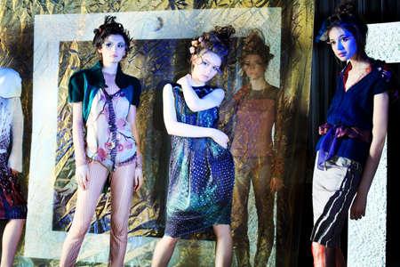 Fashion project, retro style. Stock Photo - 7172259