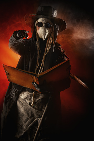 plague: Terrible plague doctor