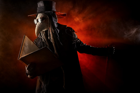 medieval medicine: Terrible plague doctor