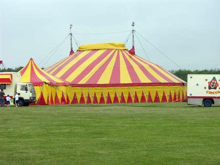 Circus Achtergrond werkt met groene toets