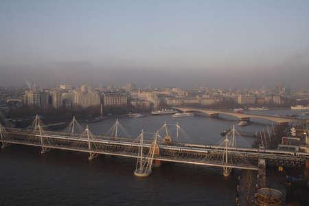 London Cityscape - Bridges photo