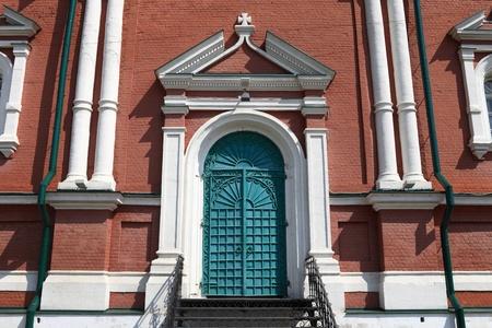 exaltation: Side of exaltation of the Cross cathedral in Brusensky monastery, Kolomna Kremlin, Russia