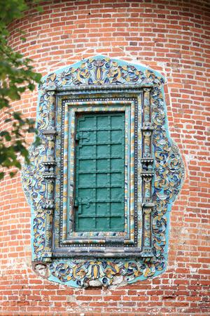 Window of St Nicholas the Wonderworker Church in Yaroslavl Stock Photo - 23085123