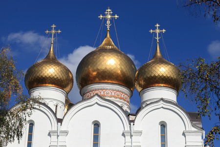 yaroslavl: Cupola of church of the Assumption of the Mary in Yaroslavl, Russia