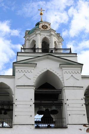 spassky: The spassky monastery belfry in Yaroslavl, Russia