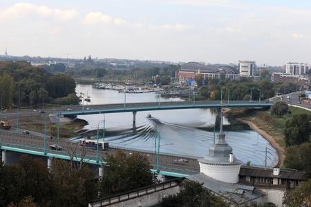 the volga river: Skyline of Yaroslavl city in summer, Russia