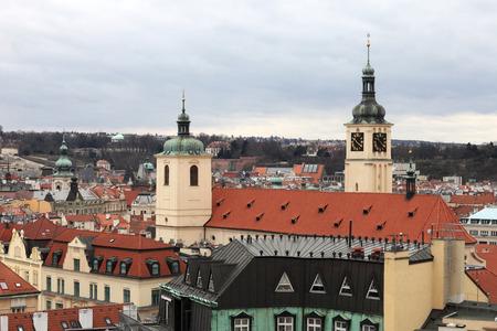 salvator: View of towers of St Salvator