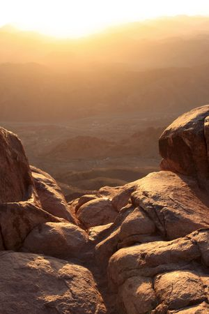 Mount Sinai is said to be the place where Moses received the Ten Commandments from God