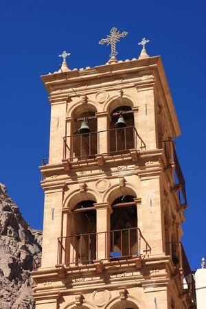 catherine: The tower of The Monastery of St. Catherine, Egypt