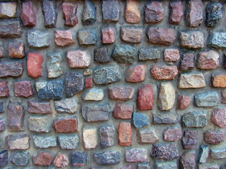 colouration: Wall Stock Photo