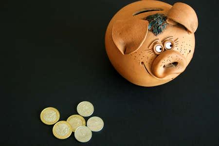 future earnings: money-box