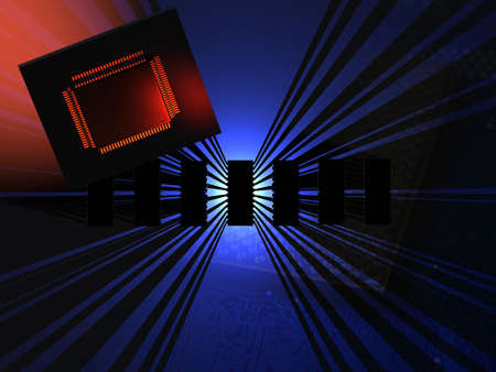 electric grid: Microchip Technology