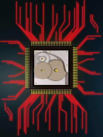 chipset: mechanical processor