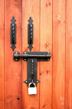 bolted: Locked Stock Photo