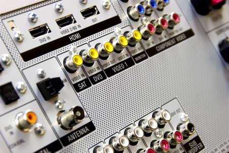 coax: Audio video Inputs