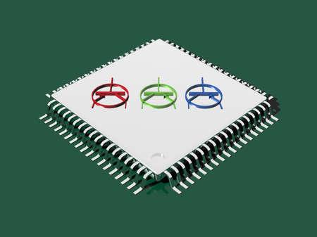 Microchip Technology 3D photo