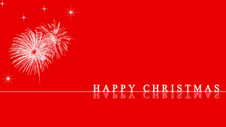 happy christmas card Stock Photo - 7714379