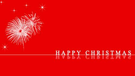 happy christmas card photo