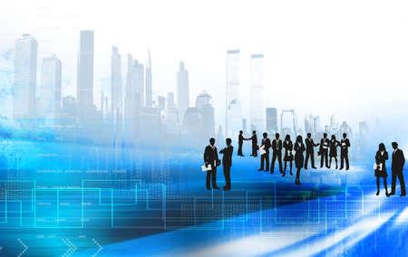 gestion empresarial: concepto de negocio Foto de archivo