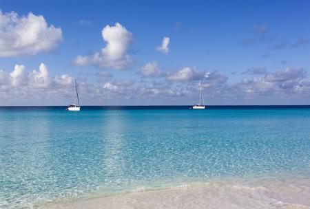 cozumel: Calm morning on Cozumel island beach (Mexico).