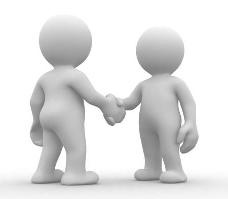 congratulating: 3D Figure Partnership