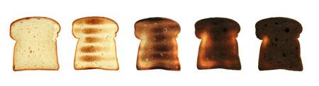 sesame cracker: Toast Bread Stock Photo