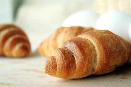 sustenance: Pieces of bread Stock Photo