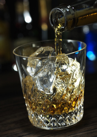 whisky glass: Whisky glass Stock Photo