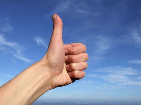 acknowledgment: Thumb up
