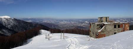 Carpathian panorama photo