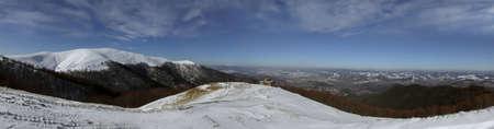 Fantastic mountain panorama