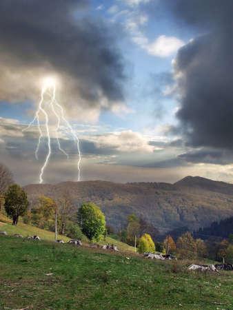 begining: Begining of the storm