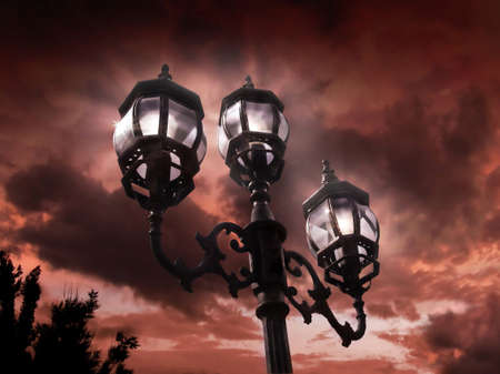 Antique lamp post Stock Photo - 4433036